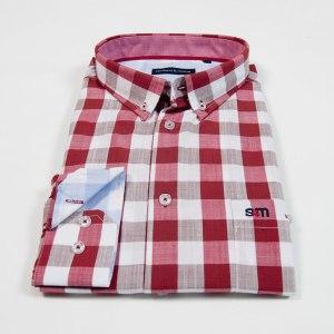 Sevillano y Molina - Camisa Aguadilla Rojo