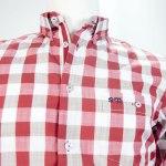 Sevillano y Molina – Camisa Aguadilla Rojo