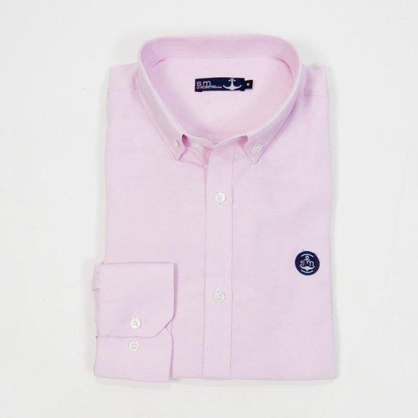 Sevillano y Molina – Camisa Semientallada Rosa