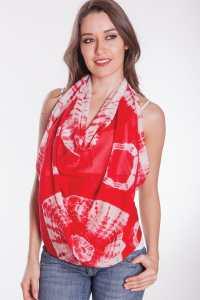Tie Dye Square Scarf SC-237.2 | Sevya Handmade