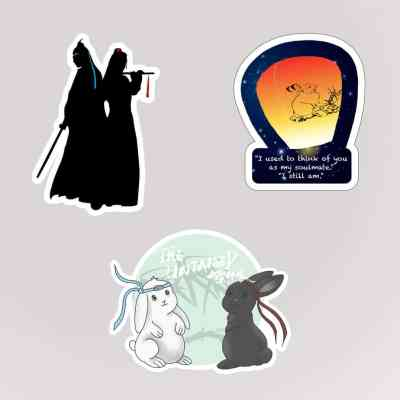 The Untamed Stickers
