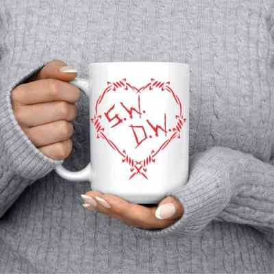 Winchester Brothers Barbwire Heart Mug