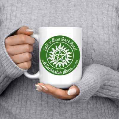 Salt n' Burn Supernatural Coffee Mug