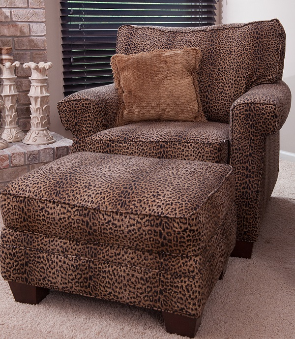 leopard print accent chair daycare table and set cheetah – roselawnlutheran