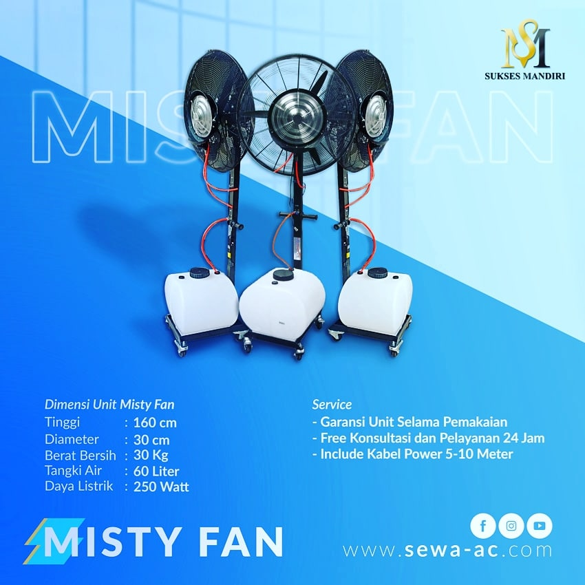 Rental Misty Fan