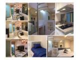 Sewa Harian, Bulanan, Tahunan / Jual Apartemen Bassura City Jakarta Timur – Studio, 1 BR, 2 BR & 3 BR Furnished & Unfurnished