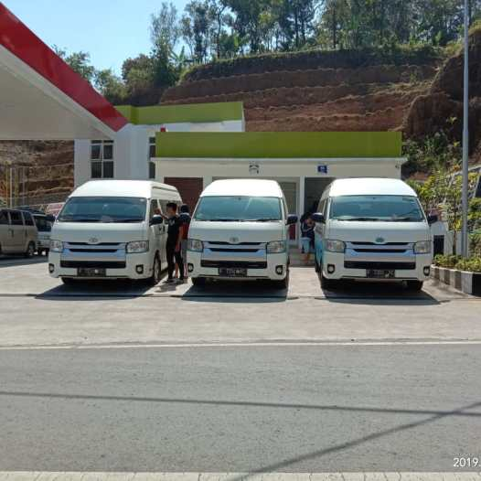 Sewa Hiace Ibu Herlina 3 unit Dieng - 3