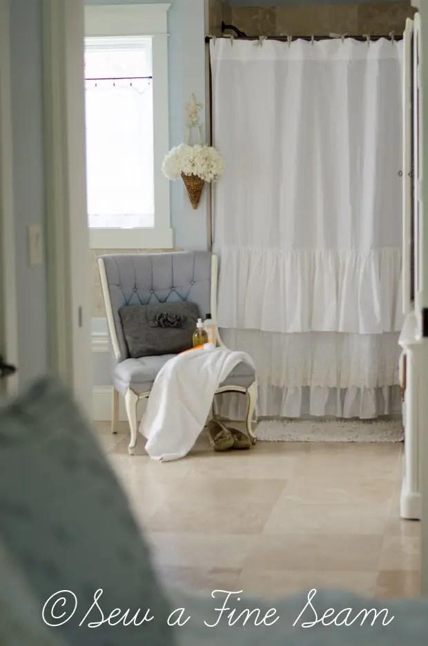 How to Make a Shower Curtain  Sew a Fine Seam