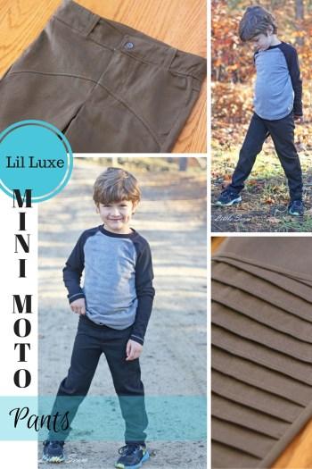 Lil Luxe Mini Moto Pants