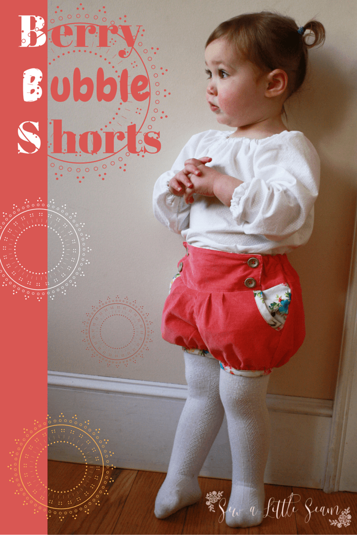 Bubble Shorts from Mummykins & Me