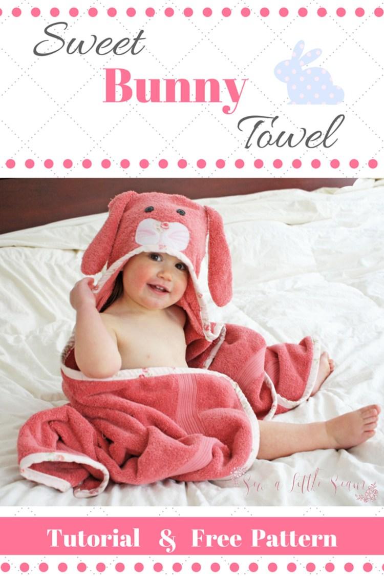 Free Hooded Towels Tutorial & Pattern