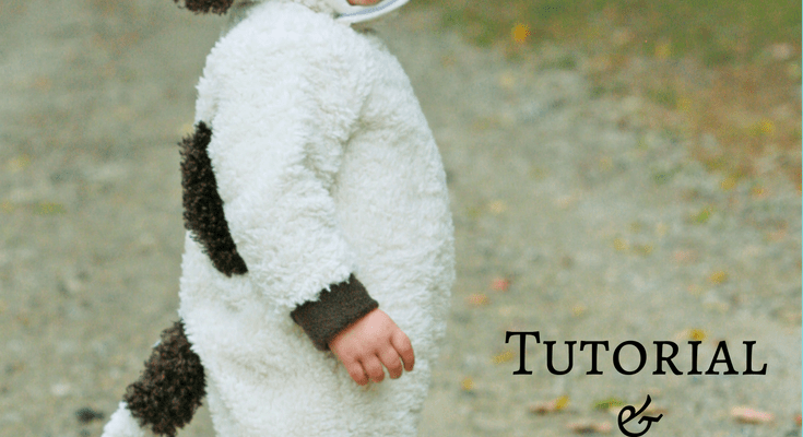 Animal Costume Tutorial and Free 2T Pattern