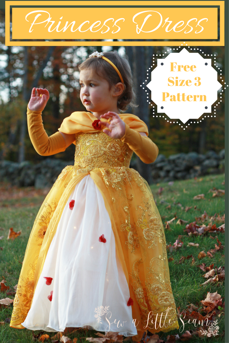 Free Princess Dress Pattern & Tutorial - Sew a Little Seam