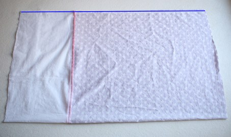 Pillowcase Tutorial by Sew a Little Seam