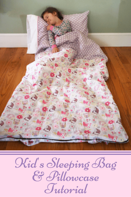 Sleeping Bag Tutorial by Sew a Little Seam