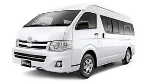 Sewa Mobil di Bali Dengan Sopir - Hiace 022016