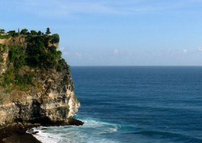 Pura Uluwatu Bali Pemandangan Sunset 01