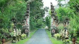 Desa Penglipuran Bangli Bali - Puntu Gerbang