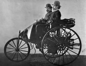 Sejarah Ditemukan Mobil Di Dunia Pertama Kali - Benz Patent Motorwagen