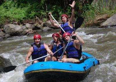 Paket Rafting Bali di Sungai Ayung 012016