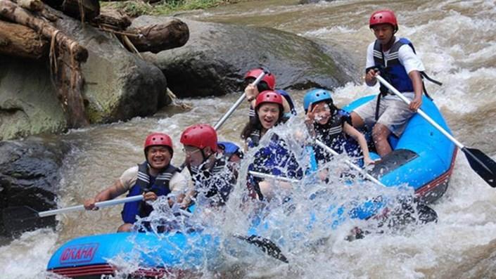 Paket Rafting Bali di Sungai Ayung
