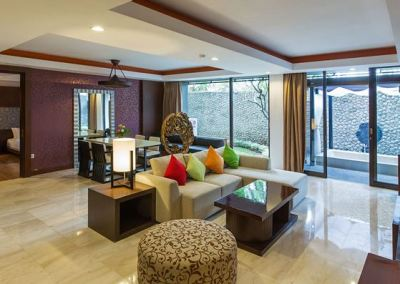 Hotel Le Grande Pecatu Bali Two Bed Room 01