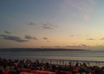 Pantai Jimbaran Bali Sunset Makan Malam Seafood 02-12092016