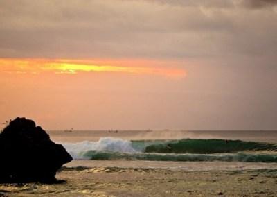 Pantai Padang Padang Bali - Sunset