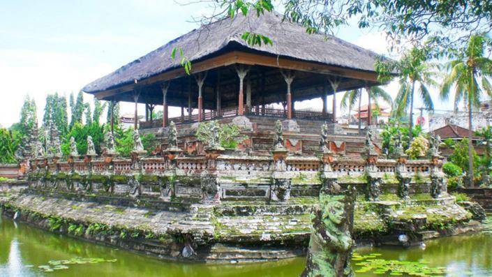 Kerta Gosa Klungkung Bali Obyek Wisata Bersejarah