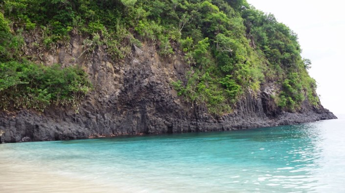 Pantai Virgin Karangasem Bali - Virgin Beach Feature