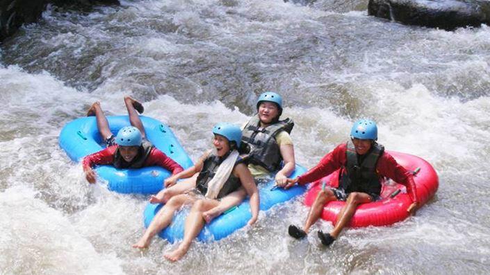 Paket Tubing di Bali Lokasi Sungai Ayung