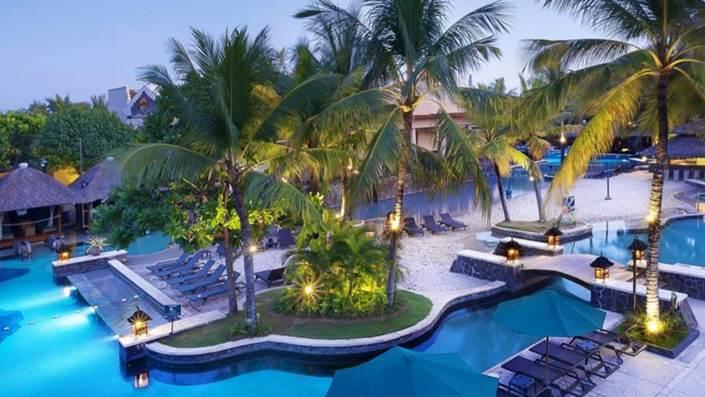 Hard Rock Hotel Bali Terletak di Dekat Pantai Kuta