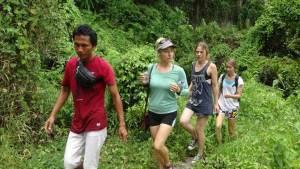 Trekking di Bali Jalur Pedesaan