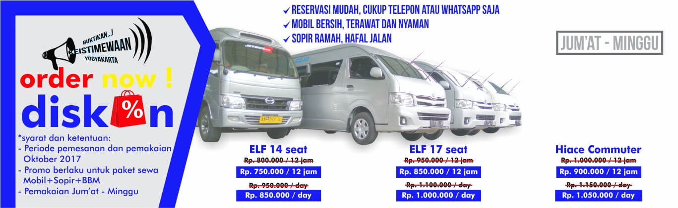 sewa mobil grand new avanza jogja harga all agya trd tarif mulai rp 65rb - (0274) 4340640