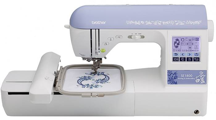 Brother SE1800 Computerized Sewing and Embroidery Machine