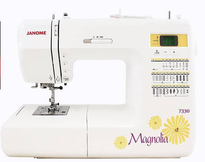 Janome 7330 Magnolia computerized sewing machines