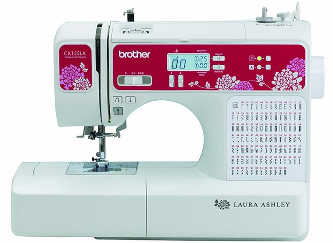 Laura Ashley Limited Edition CX155LA Quilting Machine