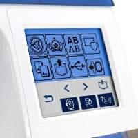 Brother Designio DZ820E Embroidery Machine Screen 1