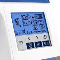 Brother Designio DZ820E Embroidery Machine Screen 2