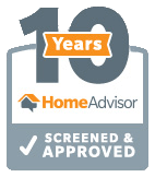 SewerTV HomeAdvisor 10 Years Screened and Approved