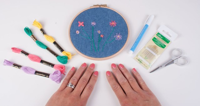 7 Easy Hand Embroidery Stitches