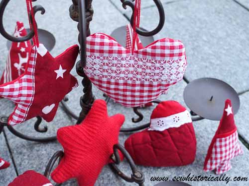 Sewn Christmas Decorations