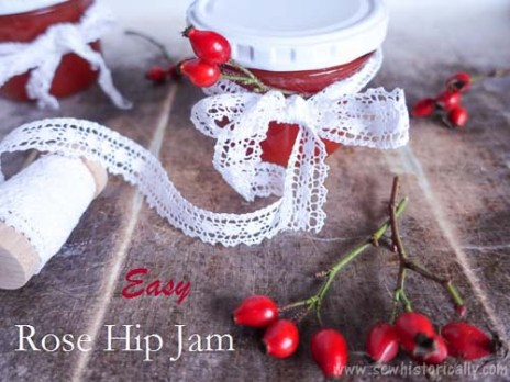 Easy Rose Hip Jam