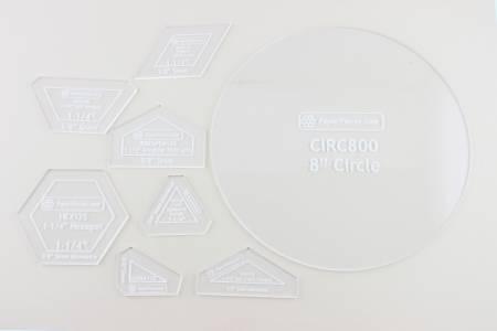 Acrylic Fabric Cutting Template for Kims Glorious Garden
