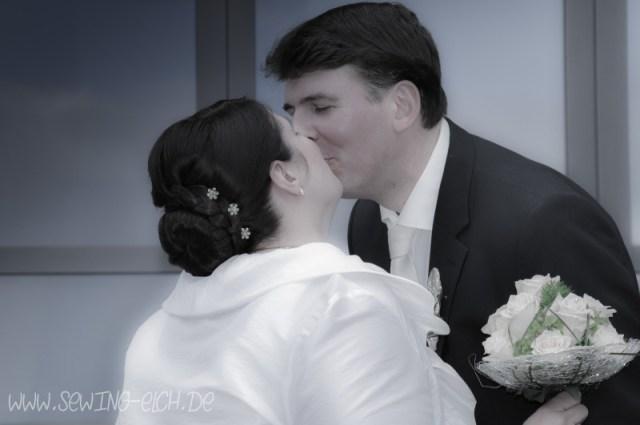 Hochzeitsfoto moderner Bildstil