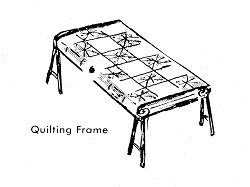 DIY free quilt frame plans, build your own