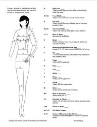 Learn to sew - Taking body measurements