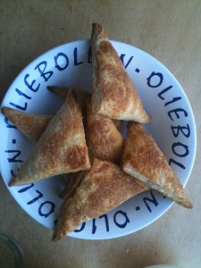 the baked apple turnover