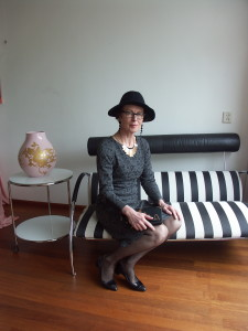 Rebecca Taylor Vogue 1251 dress LBD styled