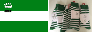 x vlag en sokken